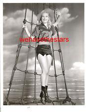 Vintage Penny Edwards SEXY LEGS PINUP 40s PIRATE Publicity Portrait