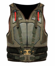 Dark Knight Rises Bane Vest Military Tactical Tom Hardy Costume Bonded Leather