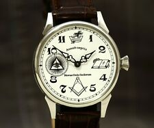 Custom Masonic Watch Mechinical Marriage Watch Husban Gift Anniversary Mason