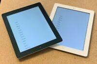 Apple iPad 4th Generation 16GB 32GB 64GB Wi-Fi + (AT&T) 9.7in Black White Tablet