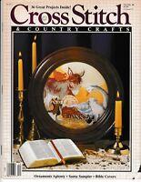Cross Stitch & Country Crafts Magazine November/December 1988