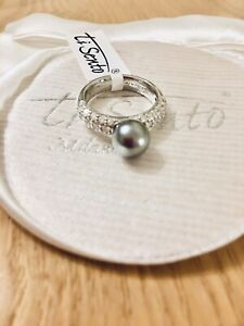 Ti Sento Sterling silver ring size N, 15.92 mm. Beautiful!