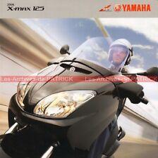 YAMAHA X-Max 125 Xmax - 2006 : Brochure - Dépliant - Moto - Scooter       #0061#