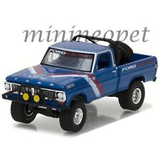 GREENLIGHT 35070 B ALL TERRAIN 5 1970 FORD F-100 PICK UP TRUCK 1/64 RACING BLUE