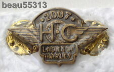 LADIES OF HARLEY OWNERS GROUP HOG LOH 2007 VEST JACKET HAT BADGE PIN 07