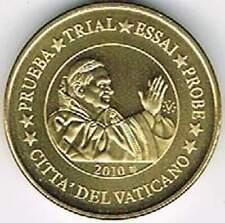 Vaticaan 2010 probe-pattern-essai - 10 eurocent - Paus Benedictus XVI