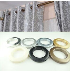 Stoffösen 35mm Gardinenzubehör Ösen für 40mm Stoffloch verschiedene Farben