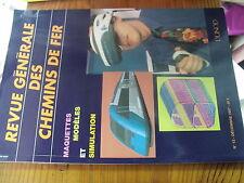 µ?. Revue Generale des Chemins de Fer RCGF 12-1997 Maquettes Modele & Simulation