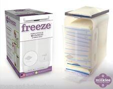 FAIRHAVEN HEALTH MILKIES FREEZE BREAST MILK SAVER COLLECTOR STORAGE ORGANIZER x1