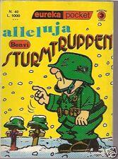 EUREKA POCKET n° 40-ED.CORNO-BONVI -STURMTRUPPEN- 6° EP