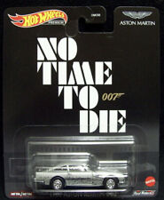 2021 Hot Wheels Retro Entertainment James Bond 007 No Time To Die Aston Martin