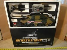 Heng Long 1/24 radio control Airsoft Battle Tank Type 90. Army, Military R/C toy
