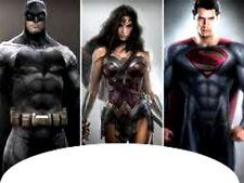 20 water slide nail art  batman, superman, wonder woman french tip Trending