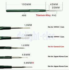 Car Wire Terminal Socket Pin Removal Dismount Tool Maintenance Titanium Alloy DE