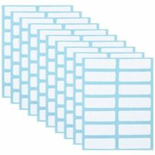 12 Sheets White Price Sticker Self Adhesive Labels Blank Name Number Tags