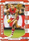 2017 Teamcoach Base Card (206) Lance FRANKLIN Sydney
