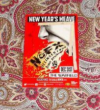 NOFX - NEW YEARS HEAVE HANDBILL - DILLINGER FOUR - TEENAGE BOTTLEROCKET - LOOK!