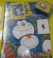 DORAEMON Album vuoto  + set Completo di  figurine Panini 2004