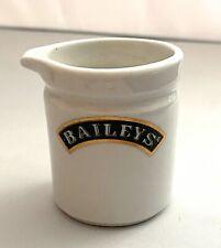 Baileys Irish Cream Ceramic Creamer Collectible Shot with Spout