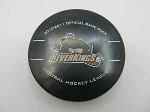 CHL MISSISSIPPI RIVERKINGS HOCKEY GAME PUCK 2010-2011