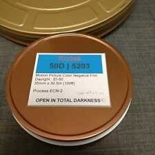 35mm - Kodak Vison3 50D/5203 motion picture color negative film, 100ft bulk