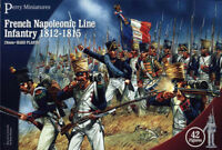 French Napoleonic Infantry - 28mm figures x42 Perry FN100 - free post