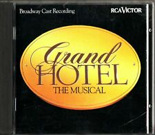 GRAND HOTEL- The Musical, Broadway Cast Recording CD 1992