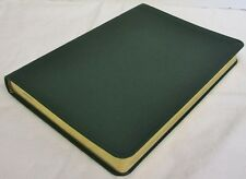 "Graphic Image Green Traditional Leather Blank Soft Cover Journal 224 Pg 5.5""x8"""