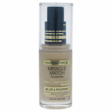 Max Factor Miracle Match Foundation BLUR & NOURISH 33 CRYSTAL BEIGE