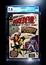 COMICS:Marvel: Daredevil #6 (1965), 1st Mr Fear/Fellowship of Fear app - CGC 7.5