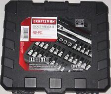 FREE PRIORITY SHIPPING New Craftsman 42 Pc Torx Hex Allen Bit-Socket Set 9-34845