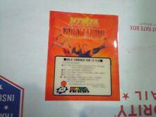 neo geo arcade ninja commando mini marquee