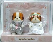 Sylvanian Families Baby Pair - Wedding Chiffon Dog ❤ Japan (Calico Critters)