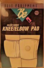 BE Best Equipment Brand Knee / Elbow Pads -B&W  Medium