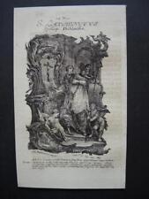 Icône Laurent holy card santino engraving gravure - 16,5x10cm