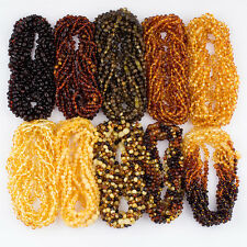 Wholesale Baltic Amber Baby Kids Various Necklaces with Rounded Beads