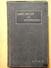 1934-VADEMECUM DEL VETERINARIO-H.MOLLEREAU-PRIMA EDIZIONE ITALIANA+