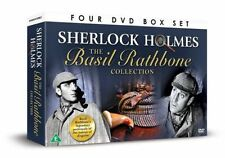 SHERLOCK HOLMES THE BASIL RATHBONE COLLECTION - 4 FILMS - DVD BOX SET - NEW