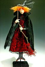 """*New* Cloth Art Doll (Paper) Pattern """"Wilda"""" By Cindee Moyer"""