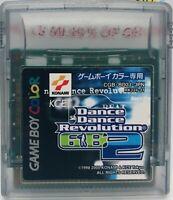 Nintendo Game Boy Color Dance Dance Revolution GB2 Japan Ver US Seller