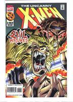 Uncanny X-men #326 Joe Madureira Gambit Sabretooth deluxe variant 9.2