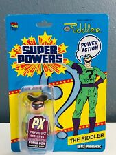 PX  San Diego Comic-Con  DC Super Powers Riddler Bearbrick Limited To 1500 RARE