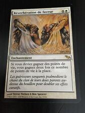 MTG MAGIC SHADOWMOOR BOON REFLECTION (FRENCH REVERBERATION DE FAVEUR) NM