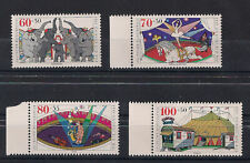 GERMANY 1989 Set of Circus Stamps Mi. #1411-1414 mint/ MNH