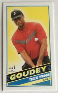 TIGER WOODS 2020 Upper Deck Goodwin Champions Goudey Mini Card