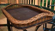 VTG Arts & Crafts Wicker Tray 20
