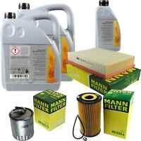 Inspektionspaket 11L Mercedes Öl 229.51 5W30 + MANN Filterpaket 11106540