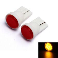 2 ampoules à LED   orange Jaune   W5W / T10  clignotants latéraux