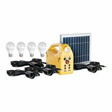 Emergency Solar Power Station Kit with USB and Four LED lights Steren LAM-600