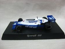 Tyrrell 008 1978 No.3 D.PIRONI Kyosho 1:64 Scale Diecast Model Car